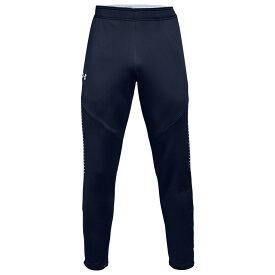 アンダーアーマー Under Armour メンズ フィットネス・トレーニング ボトムス・パンツ【Team Qualifier Hybrid Warm-Up Pants】Midnight Navy/White