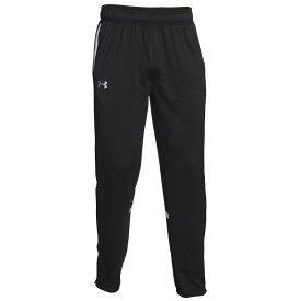 アンダーアーマー Under Armour メンズ フィットネス・トレーニング ボトムス・パンツ【Team Qualifier Warm-Up Pants】Black/White
