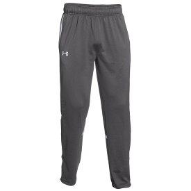 アンダーアーマー Under Armour メンズ フィットネス・トレーニング ボトムス・パンツ【Team Qualifier Warm-Up Pants】Team Graphite/White