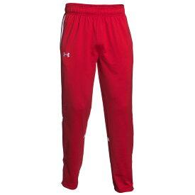アンダーアーマー Under Armour メンズ フィットネス・トレーニング ボトムス・パンツ【Team Qualifier Warm-Up Pants】Team Red/White