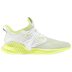 アディダス adidas メンズ ランニング・ウォーキング シューズ・靴【Alphabounce Instinct Climacool】White/Hi-Res Yellow/Hi-Res Yellow