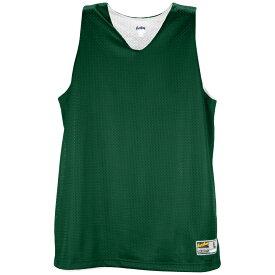 イーストベイ Eastbay レディース バスケットボール タンクトップ トップス【Basic Reversible Mesh Tank】Forest Green/White