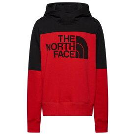 ザ ノースフェイス The North Face レディース パーカー トップス【Drew Peak Hoodie】Tnf Red/Black