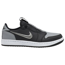 ナイキ ジョーダン Jordan レディース バスケットボール シューズ・靴【AJ 1 Retro Low Slip SE】Black/Medium Grey/White