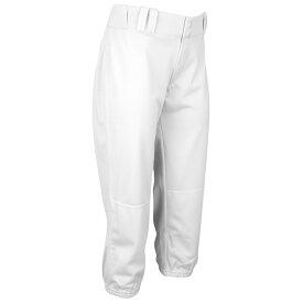 アンダーアーマー Under Armour レディース 野球 ボトムス・パンツ【Team One-Hop Pants】White