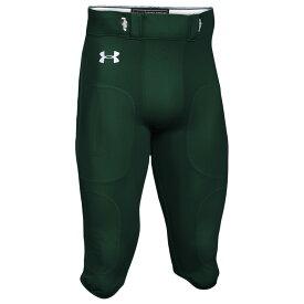 アンダーアーマー Under Armour メンズ アメリカンフットボール ボトムス・パンツ【Team Stock Instinct Pants】Green/White
