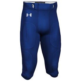 アンダーアーマー Under Armour メンズ アメリカンフットボール ボトムス・パンツ【Team Stock Instinct Pants】Royal/White