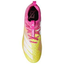 アディダス adidas メンズ アメリカンフットボール シューズ・靴【adiZero 8.0 Snowcone】Shock Pink/White/Yellow