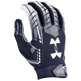 アンダーアーマー Under Armour メンズ アメリカンフットボール グローブ【F6 Football Gloves】Navy/White