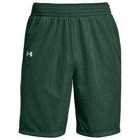 アンダーアーマー Under Armour メンズ バスケットボール ショートパンツ ボトムス・パンツ【Team Triple Double Shorts】Dark Green/White