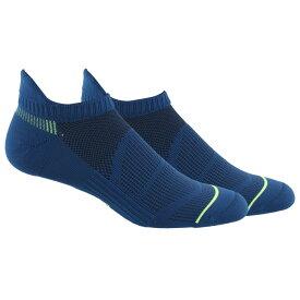 アディダス adidas メンズ フィットネス・トレーニング 2点セット ソックス【2 Pack Superlite Prime No Show Socks】Marine Blue/Yellow/Black