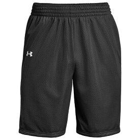 アンダーアーマー Under Armour メンズ バスケットボール ショートパンツ ボトムス・パンツ【Team Triple Double Shorts】Black/White