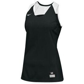 ナイキ Nike レディース バスケットボール トップス【Team Elite Stock Jersey】Black/White