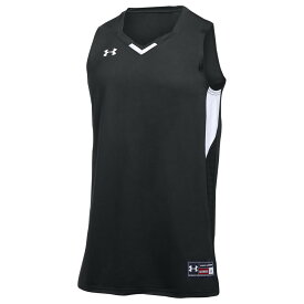 アンダーアーマー Under Armour レディース バスケットボール トップス【Team Fury Jersey】Black/White