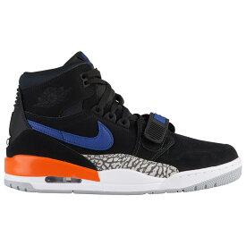 ナイキ ジョーダン Jordan メンズ バスケットボール シューズ・靴【Legacy 312】Black/Rush Blue/Brilliant Orange