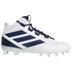 アディダス adidas メンズ アメリカンフットボール シューズ・靴【Freak Carbon】White/Collegiate Navy