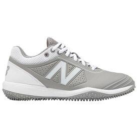 ニューバランス New Balance レディース 野球 シューズ・靴【FuseV2 Turf】Grey/White