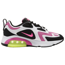 ナイキ Nike レディース ランニング・ウォーキング シューズ・靴【Air Max 200】Black/Hyper Pink/Cosmic Fuchsia/Limelight/Orange Just Do It Yourself