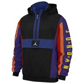 ナイキ ジョーダン Jordan メンズ バスケットボール ジャケット アウター【Wings Windwear Jacket】Black/Rush Blue/White