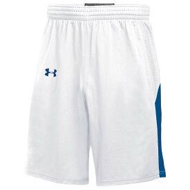 アンダーアーマー Under Armour レディース バスケットボール ショートパンツ ボトムス・パンツ【Team Fury Shorts】White/Royal