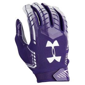 アンダーアーマー Under Armour メンズ アメリカンフットボール グローブ【F6 Football Gloves】Purple/White
