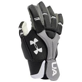 アンダーアーマー Under Armour メンズ ラクロス グローブ【Strategy Glove】Black
