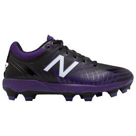ニューバランス New Balance メンズ 野球 シューズ・靴【4040v5 TPU Low】Black/Purple
