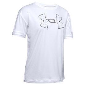 アンダーアーマー Under Armour レディース フィットネス・トレーニング Tシャツ トップス【Performance Graphic T-Shirt】White/Halo Grey