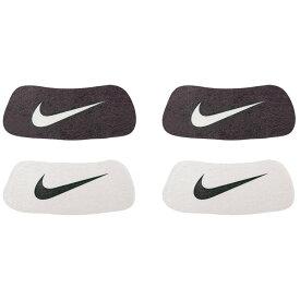 ナイキ Nike ユニセックス アメリカンフットボール 【Swoosh Home & Away Eyeblack Stickers】Black/White Sold as a Dozen