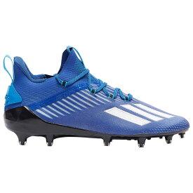 アディダス adidas メンズ アメリカンフットボール シューズ・靴【adiZero】Royal Blue/White/Core Black