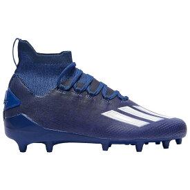 アディダス adidas メンズ アメリカンフットボール シューズ・靴【adiZero SK】Bright Blue/White/Collegiate Navy