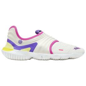 ナイキ Nike レディース ランニング・ウォーキング シューズ・靴【Free RN Flyknit 3.0】Pure Platinum/Psychic Purple/White