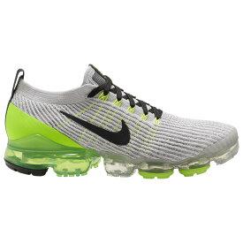 ナイキ Nike メンズ ランニング・ウォーキング シューズ・靴【Air Vapormax Flyknit 3】Vast Grey/Off Noir/Electric Green/White