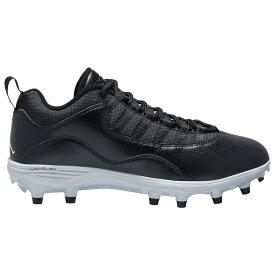 ナイキ ジョーダン Jordan メンズ アメリカンフットボール シューズ・靴【Retro 10 TD Low】Black/White