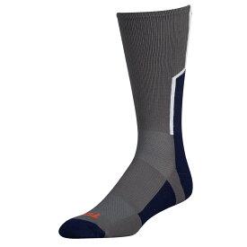 ツウィンシティ Twin City メンズ アメリカンフットボール 【Player ID Custom Number Crew Socks】Graphite/Navy/White