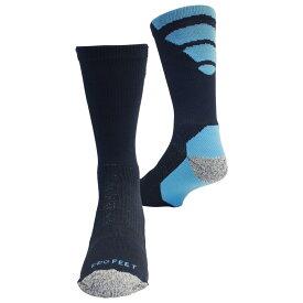プロフィート ProFeet メンズ ソックス インナー・下着【Viper Crew Socks】Navy/Columbia Blue