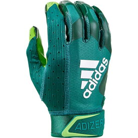 アディダス adidas メンズ アメリカンフットボール レシーバーグローブ グローブ【adiZero 9.0 Receiver Gloves】Green/Highlighter