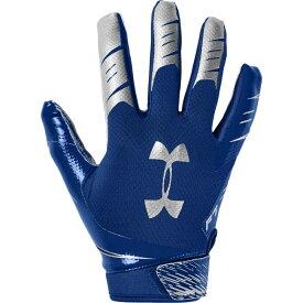 アンダーアーマー Under Armour メンズ アメリカンフットボール レシーバーグローブ グローブ【F7 Receiver Gloves】Royal/Metallic Silver