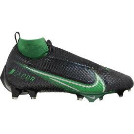 ナイキ Nike メンズ アメリカンフットボール シューズ・靴【Vapor Edge Pro 360】Black/Pine Green/Metallic Silver