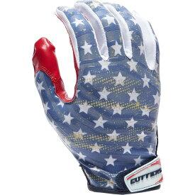 カッターズ Cutters メンズ アメリカンフットボール レシーバーグローブ グローブ【Rev Pro 3.0 Printed Receiver Gloves】Red/White/Blue/Stars & Stripes
