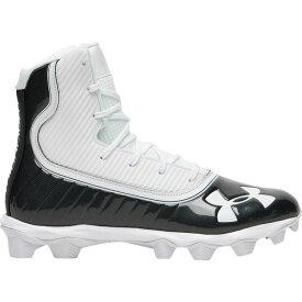 アンダーアーマー Under Armour メンズ アメリカンフットボール シューズ・靴【highlight rm】Black/White