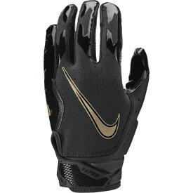ナイキ Nike メンズ アメリカンフットボール レシーバーグローブ グローブ【vapor jet 6.0 receiver gloves】Black/Black/Metallic Gold