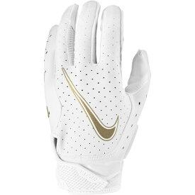 ナイキ Nike メンズ アメリカンフットボール レシーバーグローブ グローブ【vapor jet 6.0 receiver gloves】White/White/Metallic Gold