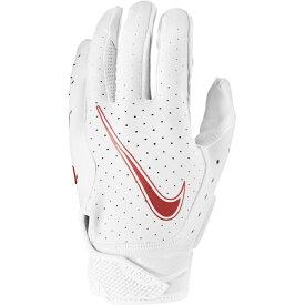 ナイキ Nike メンズ アメリカンフットボール レシーバーグローブ グローブ【vapor jet 6.0 receiver gloves】White/White/University Red