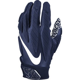 ナイキ Nike メンズ アメリカンフットボール レシーバーグローブ グローブ【Superbad 5.0 Receiver Gloves】College Navy/White