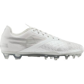 アンダーアーマー Under Armour メンズ アメリカンフットボール シューズ・靴【blur lux mc】White/White/Metallic Silver