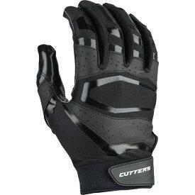カッターズ Cutters メンズ アメリカンフットボール レシーバーグローブ グローブ【rev pro 3.0 solid receiver gloves】Black
