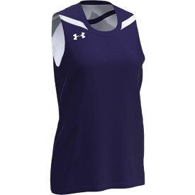 アンダーアーマー Under Armour Team レディース バスケットボール トップス【team clutch 2 reversible jersey】Purple/White
