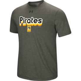 アンダーアーマー Under Armour メンズ Tシャツ トップス【mlb saturday morning t-shirt】MLB Pittsburgh Pirates Grey