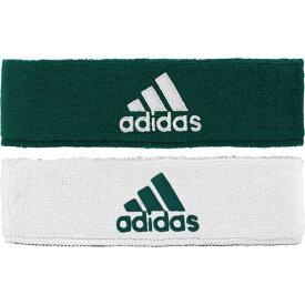 アディダス adidas メンズ ヘアアクセサリー ヘッドバンド【interval reversible headband】Dark Green/White